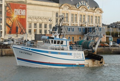 bateau de peche trouville sur mer