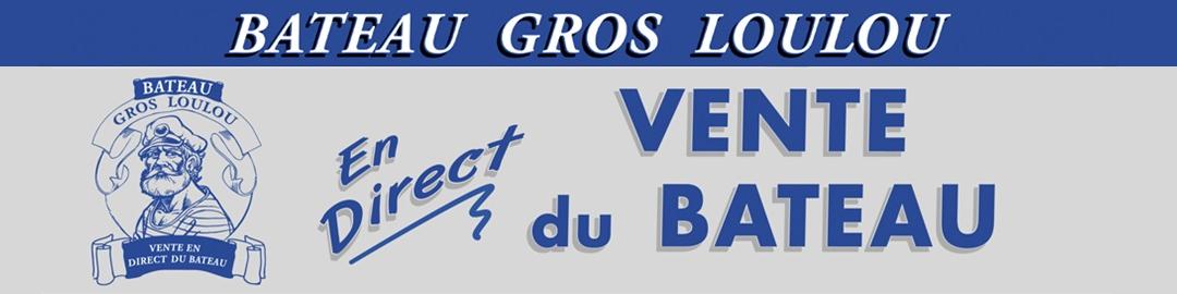 Bateau de pêche gros loulou Logo